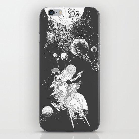 rocket lass iPhone & iPod Skin