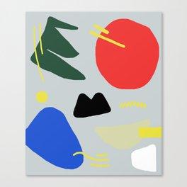 Primary Chunker Canvas Print