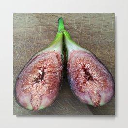 Fresh Fruit figues Metal Print