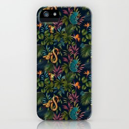WILD AND TANGLED iPhone Case