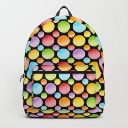 Candy Rainbow Polka Dots Backpack