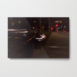 Night Transit Metal Print