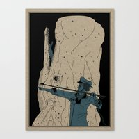 dick Canvas Prints featuring Moby dick by danb