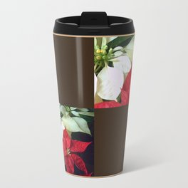Mixed Color Poinsettias 2 Blank Q3F0 Travel Mug