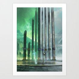 Legacy of Kain: The Pillars Art Print