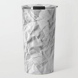 Paper Pattern Travel Mug