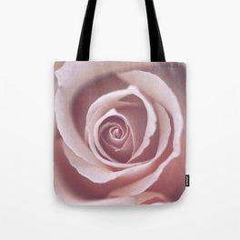 Pink Pastel Rose Tote Bag