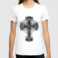 cross T-shirts featuring cross by T.Grimm