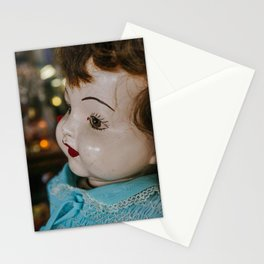 She is looking at you Stationery Cards