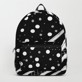 Black & White Graphic 2 Backpack