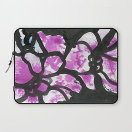 Bold floral Laptop Sleeve