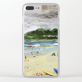 Byron by Syron Clear iPhone Case