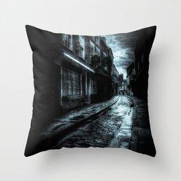York Shambles Ghosts Throw Pillow