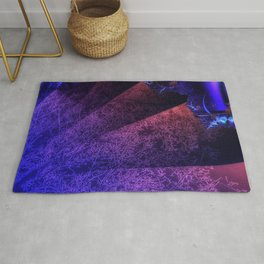 Pleated fantasy forest Rug
