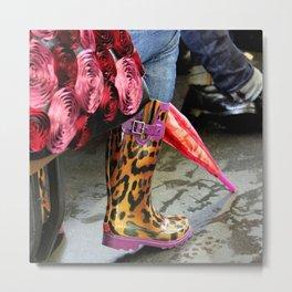 Rainy Day Plastic Metal Print