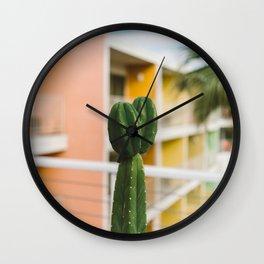 Palm Springs Cactus Wall Clock