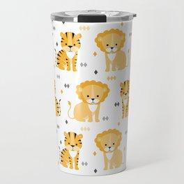 Lion & tiger Travel Mug