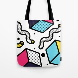 Memphis Pop-art Pattern II Tote Bag
