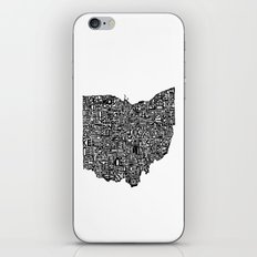 Typographic Ohio iPhone & iPod Skin
