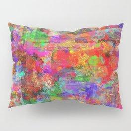 Vibrant Chaos - Mixed Colour Abstract Pillow Sham