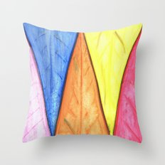 Abstract Triangles Throw Pillow
