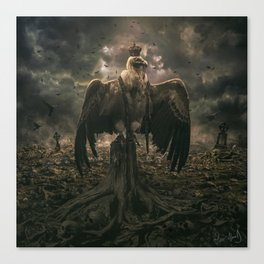 The Sinister Reign Canvas Print
