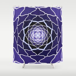 Sacred Lotus Shower Curtain
