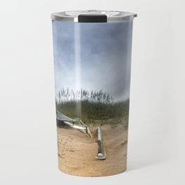 Beached Catamaran Travel Mug