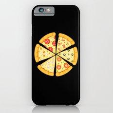 pizza lover black Slim Case iPhone 6