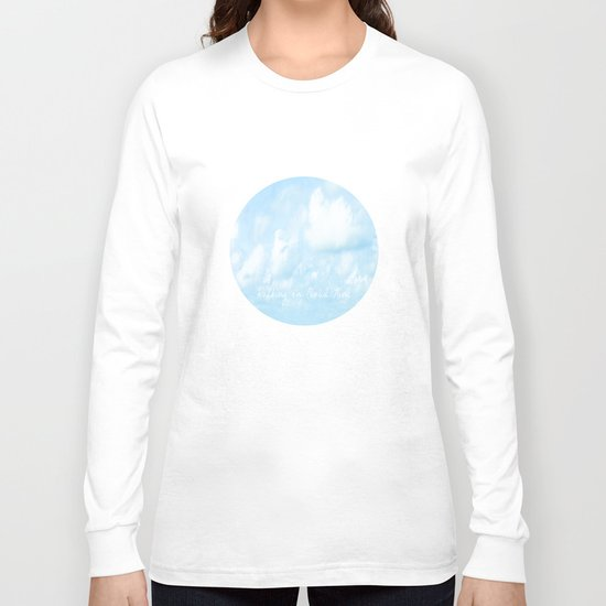 Walking On Cloud Nine  Long Sleeve T-shirt