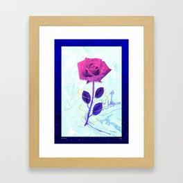 Arien Rose Framed Art Print