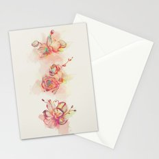 Roses & Orchids Stationery Cards