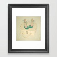Summer Romance Framed Art Print
