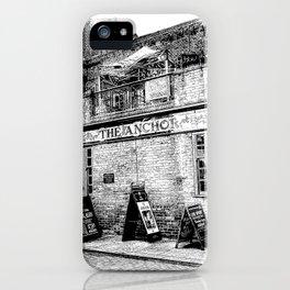 The Anchor Pub London Art iPhone Case