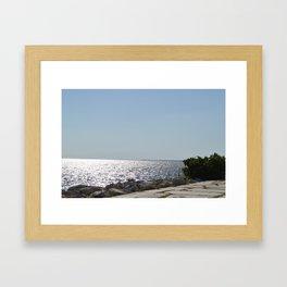 Gravel & Rock Framed Art Print