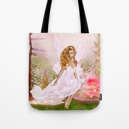 Pink Opal Tote Bag
