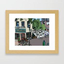 Aster Cafe - Minneapolis, Minnesota Framed Art Print