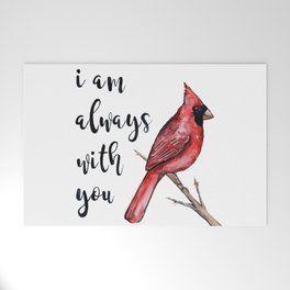 I Am Always With You, Cardinal Welcome Mat
