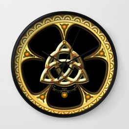 Decorative celtic knot Wall Clock