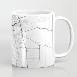 Minimal City Maps - Map Of Stockton, California, United States Coffee Mug