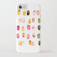 aelwen iPhone & iPod Cases featuring strokes of colors by clemm