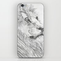 leon iPhone & iPod Skins featuring Leon by Amy Lawlor Creations