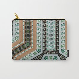 Graphic design futuristic residential Carry-All Pouch