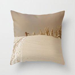 Winter day 5 Throw Pillow