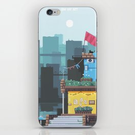 The Cat's Diner iPhone Skin