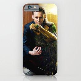 Tom & Loki iPhone Case