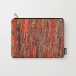 lines of red yellow Carry-All Pouch