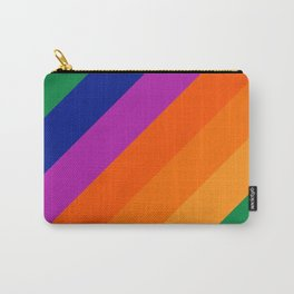 Simple Stripes - Grass Carry-All Pouch