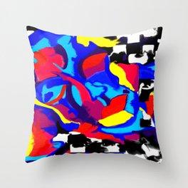 Fusing Substratum Throw Pillow