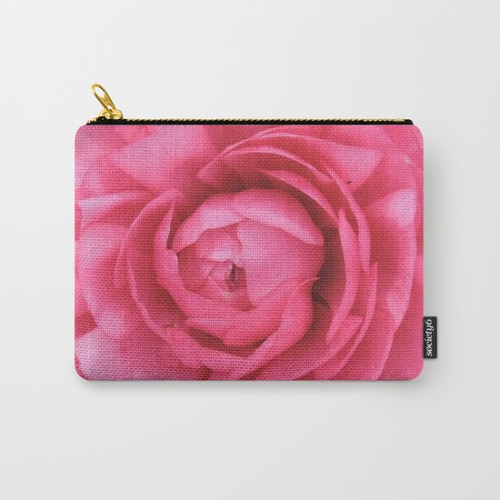 Petals in the Pink Carry-All Pouch